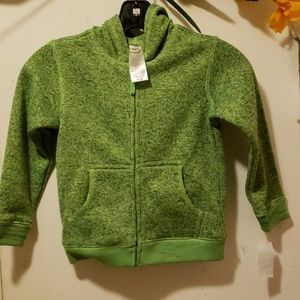 TOUGHSKINS Juvi Boys Sweater Knit Hoodie Size 4